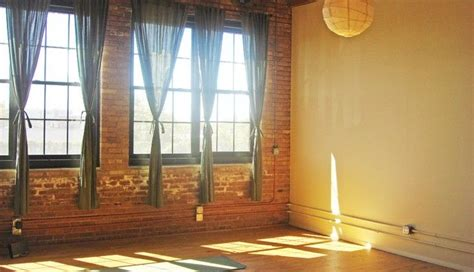 yoga curtains curtains exposed brick wall yoga get stretchy