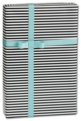 Cc Stripe Cp Cc Stripe black white stripe gift wrap 30 x 208 bags bows