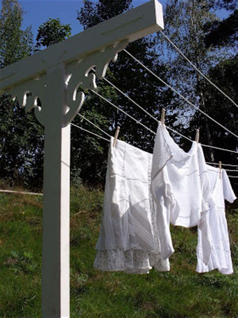 Backyard Clothesline by Frugal Luxuries By The Seasons In Praise Of The Backyard