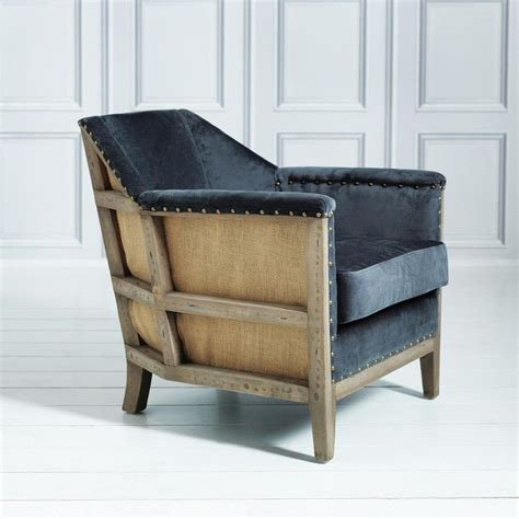 Sofa Armchairs by Hoxton Armchair In Grey Velvet Armchairs Shop By Item