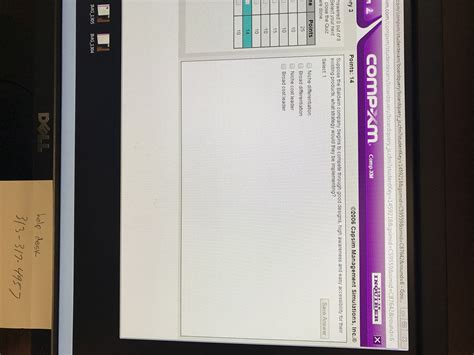 Mba Comp Xm Tutor by This Is A Comp Xm Cap Sim Assignment Needed For My Mba