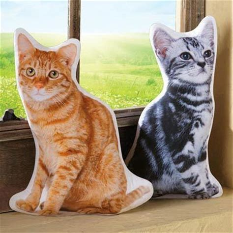 Cat Shaped by Cat Shaped Pillow The Paragon Catalog