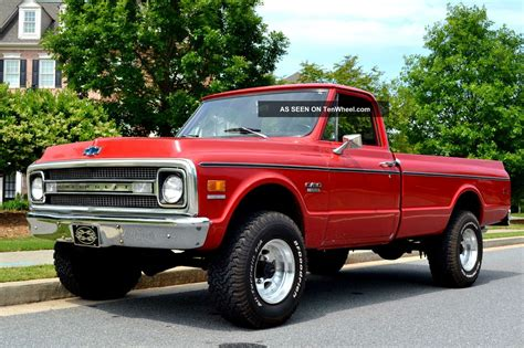 1969 3 4 ton 4wd 4speed quot muscle truck quot collectible