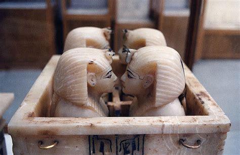 i vasi canopi viaggiatorineltempo antico egitto