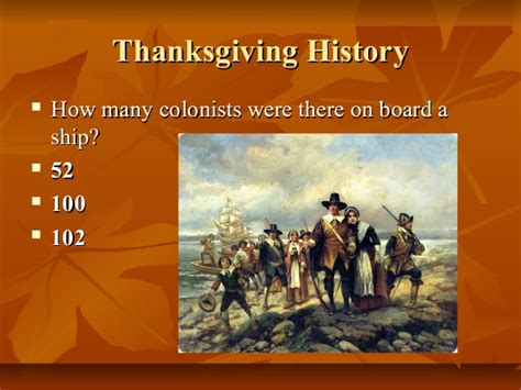 was thanksgiving a success quiz thanksgiving day quiz