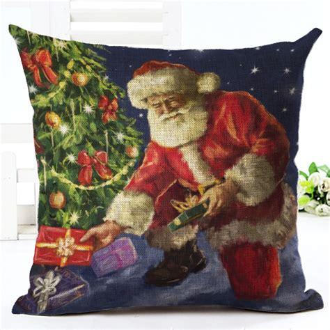 christmas tree cushion pattern aliexpress com buy christmas cushion christmas