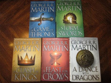 Books Of The Game Of Thrones Cover Of Books Pinterest