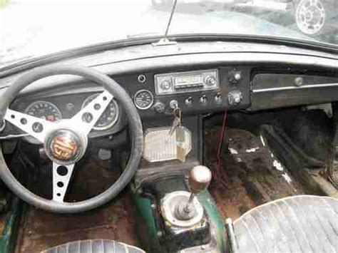 Ready Nulife Rejuvenate Original sell used mg 1964 quot pull handle quot mgb all original with overdrive ready for restore or parts in