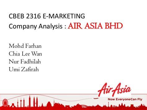 air asia presentation e marketing presentation slides