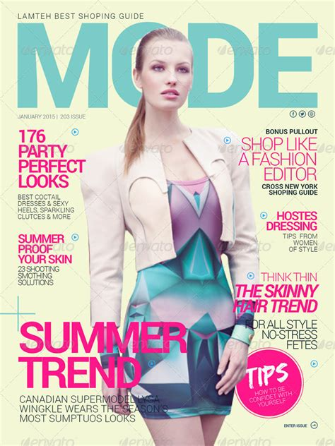 Interactive Magazine Template Interactive Magazine Template By Broluthfi Graphicriver
