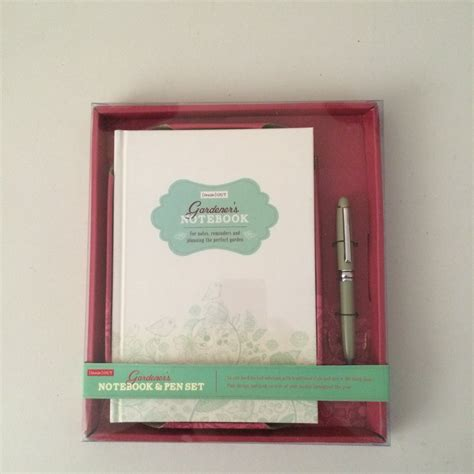 Garden Accessories Gifts Gardener S Notebook Pen Set From Ruddick Garden Gifts