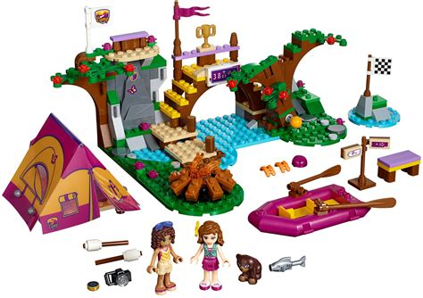 lego friends 41121 pas cher rafting 224 la base d aventure