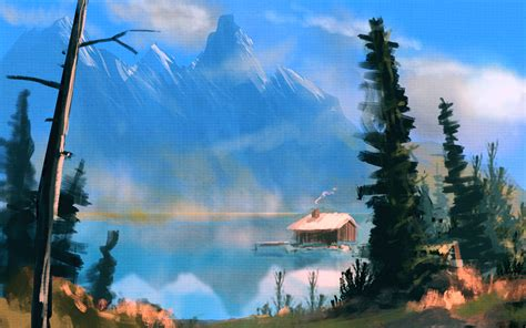 bob ross painting lake bob ross mountain lake speedpainting by bungyx on deviantart