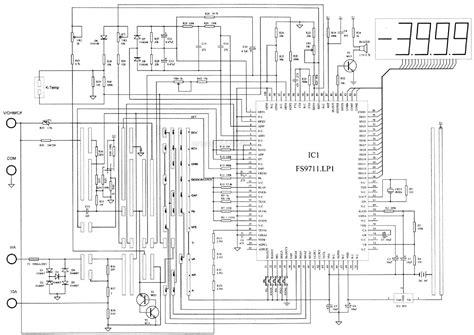 Dt830d Digital Multimeter Circuit Diagram