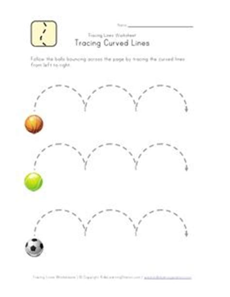 hopping pattern worksheet tracing lines worksheet writing readiness kid stuff
