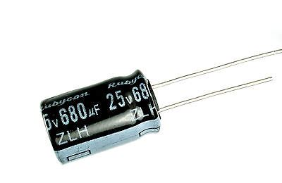 Rubycon Zlh 1200uf 35v 105c Low Impedance Electrolytic Capacitor rubycon capacitor owner s guide to business and industrial equipment
