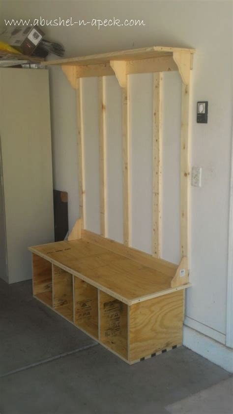 build shoe storage bench woodworking projects plans