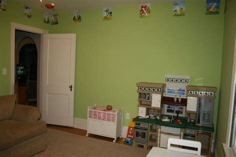 sherwin williams green fairytale enchanted forest guest room apples