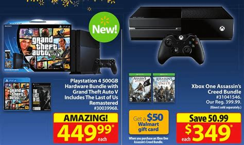 Playstation 4 Gift Card Canada - roundup of black friday canada deals on the playstation 4 and xbox one consoles