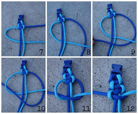 how to make paracord bracelets   A  and a glue gun