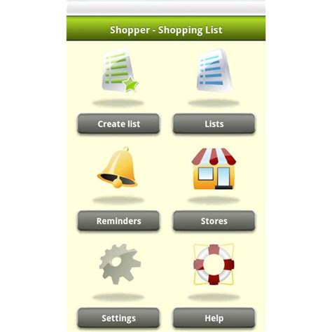 shopping apps for android best grocery list app android grocery list template