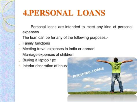 different types of loans in india