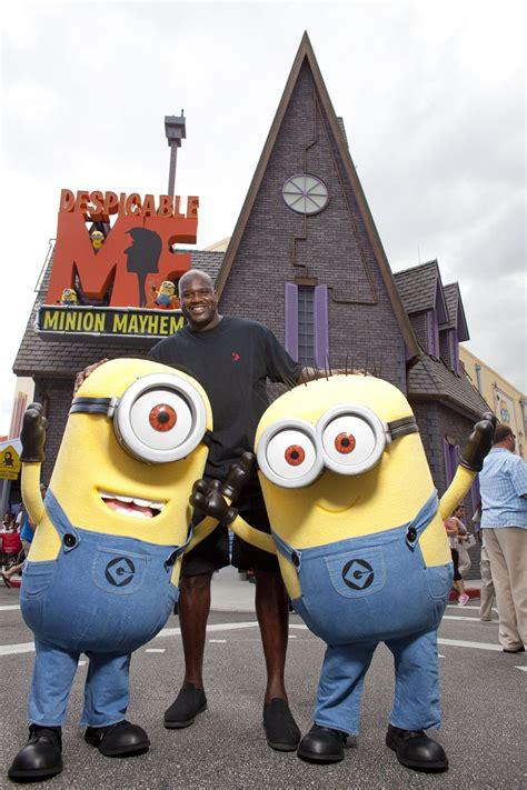 Minions World Graphic 3 sighting shaq meets the minions at universal