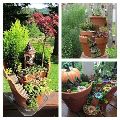 vaso rotto come riciclare i vasi rotti nel proprio giardino o balcone
