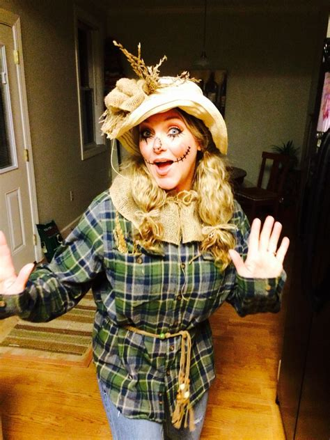 halloween adult womens scarecrow costume halloween