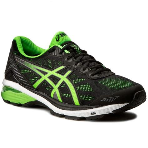 Asics Original Gt 1000 5 Black Green Gecko shoes asics gt 1000 5 t6a3n black green gecko carbon 9085 indoor running shoes sports