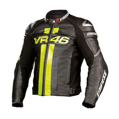 dainese vr46 leather jacket black bikeworld ireland