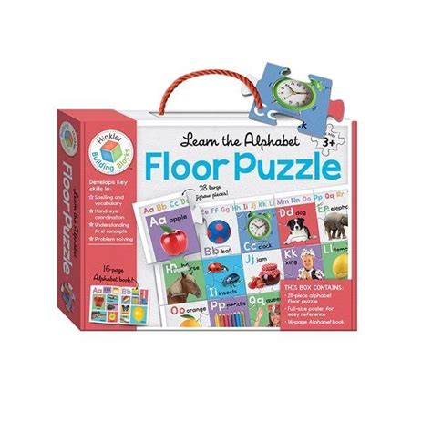 Alphabet Floor Puzzle by Learn The Alphabet Floor Puzzle Educational Therapy Toys