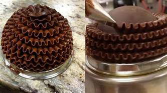 how to make chocolate decorations at home amazing chocolate cake decorating videos cake style 2017