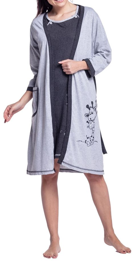 C Section Hospital Gown by Happy S Maternity Hospital Gown Robe Nightie