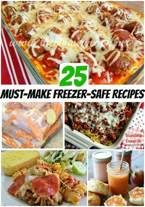 easy make ahead dinner recipes 1000 ideas about make ahead freezer meals on