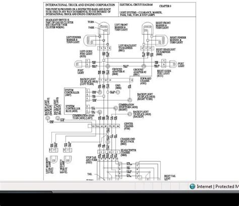 international wiring diagrams wiring diagram with