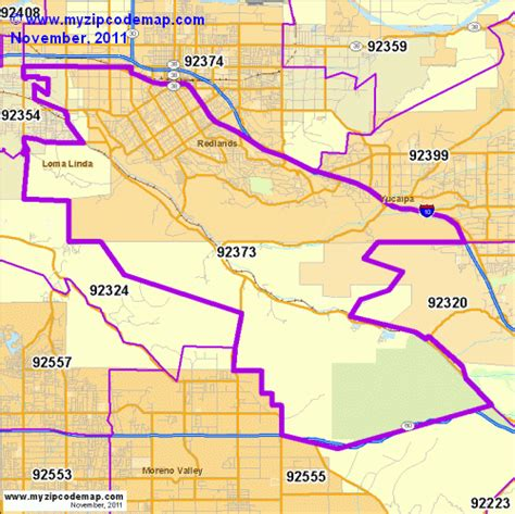 california map redlands zip code map of 92373 demographic profile residential