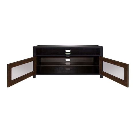 bello no tools assembly 50 inch wood tv cabinet black and