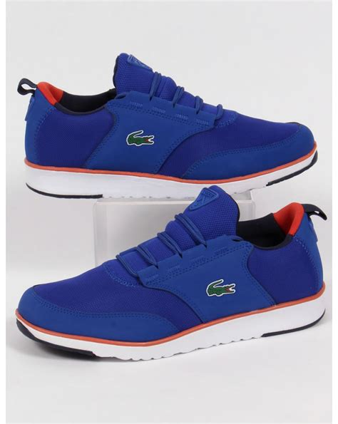 lacoste light sneakers lacoste light trainers royal blue orangerunning shoes