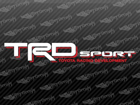 Toyota Truck Stickers Toyota Trd Sport Decal Stickers