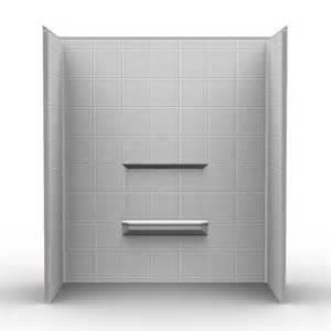 shower wall surround kits three shower wall