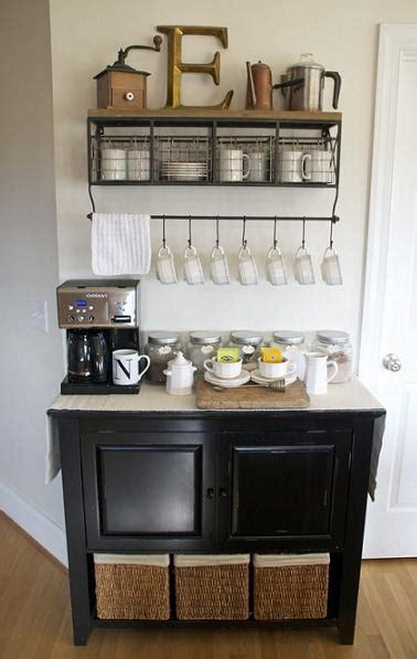 DIY Home Coffee Bar Inspiration
