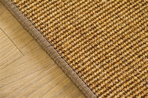 teppich 80x300 sisal teppich acapulco gekettelt zwei farben viele