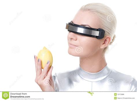 uzbek women stock photos uzbek women stock images alamy cyber woman with fresh lemon stock photo image of modern