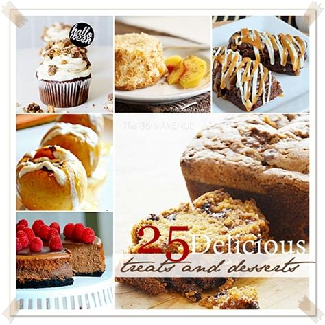 treat recipes delicious cookies cakes pies candies and desserts 2017 edition books the 36th avenue 25 delicious fall treats and desserts
