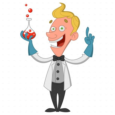 chemist with flask by gatts graphicriver