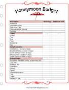All wedding planner pages