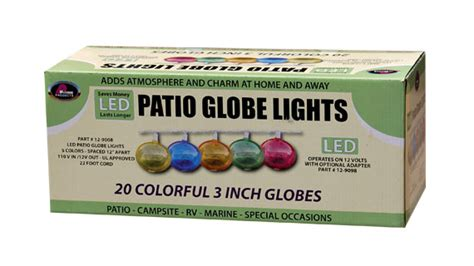 12 Volt Led Patio Lights by Led Patio Lights Multi Color Prime Products