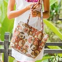 Pouch Batik Kembang by Unique Handmade Shoulder Bags Unicef Market