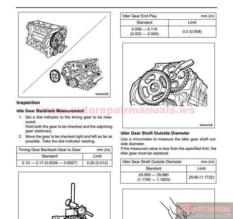 small engine repair training 2007 isuzu i series head up display isuzu truck service training n series auto repair manual forum heavy equipment forums